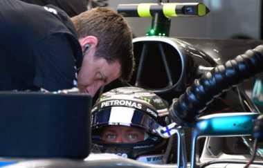 Bottas Jadi yang Tercepat, Vettel Terempas di Posisi ke-13 pada Latihan Bebas Ketiga GP Azerbaijan