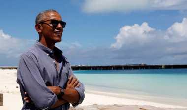 OBAMA MUDIK: Obama Kaget Pemandangan Menteng Bukan Sawah, Tapi Sesak Penduduk