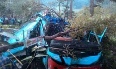 Dishub Bentuk Tim untuk Selidiki Penyebab Kecelakaan Bus Pemudik yang Terjun ke Jurang