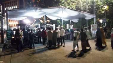 Lebaran Tiba, Masyarakat Mulai Padati Masjid Istiqlal