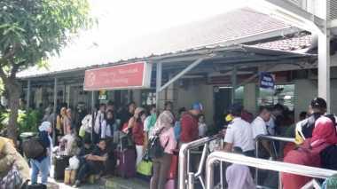 Hari H Lebaran, 26.920 Pemudik Tinggalkan Ibu Kota Melalui Stasiun Pasar Senen