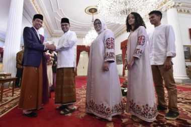 Temui Jokowi Pakai Sarung, Anies Baswedan: Ini Tradisi Indonesia