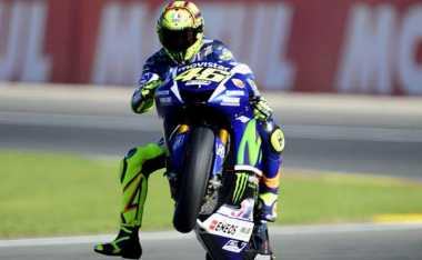 Zarco Terdepan, Rossi Naik Satu Tingkat