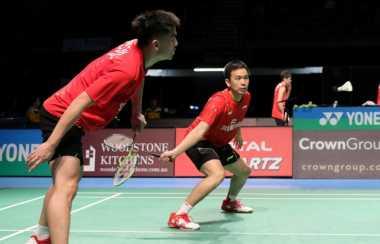 Gagal Taklukkan Pasangan Jepang, Hendra/Tan Jadi Runner-Up Australia Open 2017