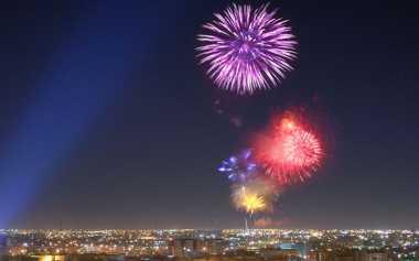Idul Fitri di Riyadh Ramai Kembang Api dan Pertunjukan Tradisional