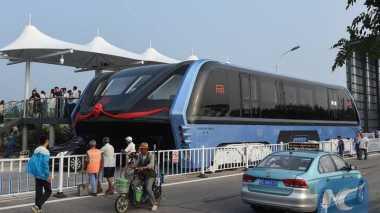 Proyek Bus Antimacet di China Gagal Total