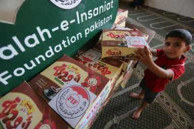 Intip Keceriaan Warga Gaza Rayakan Idul Fitri