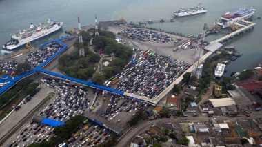 Puncak Arus Balik di Pelabuhan Bakauheni Diperkirakan Sabtu 1 Juli 2017