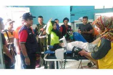 Wisatawan Bandung Terseret Ombak di Pangandaran