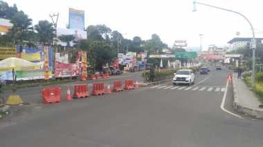 Jalur Puncak Menuju Jakarta Diberlakukan Satu Arah hingga Pukul 21.00 WIB