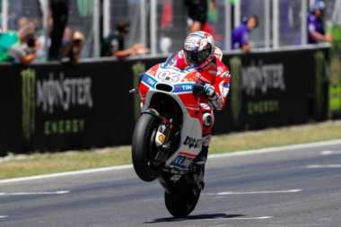 Kecepatan Desmosedici Buat Dovizioso Pede Tatap Juara Dunia MotoGP 2017