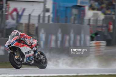 Kalah Saing dengan Duo Honda, Dovizioso Mengumpat