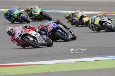 Mulai Pikirkan Peluang Juara Dunia, Dovizioso Enggan Tiru Penampilan Rossi dan Petrucci di Assen