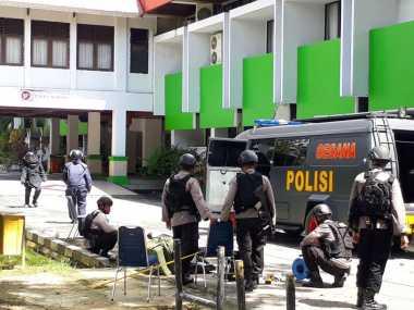 Paket Diduga Bom di Wali Kota Kendari Sudah Ada Sejak Dini Hari