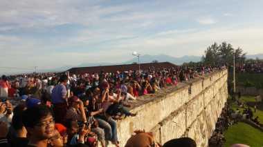 Libur Lebaran, 4.000 Orang Kunjungi Benteng Marlborough di Bengkulu
