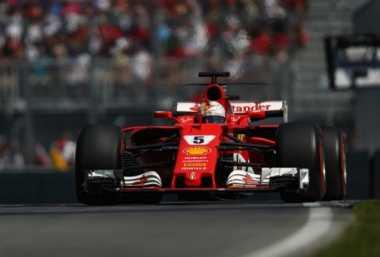 Berseteru dengan Hamilton, Vettel: Saya Tidak Menabraknya di Sirkuit Baku!