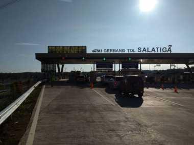Arus Mudik dan Balik, Mobil Padati Tol Semarang-Salatiga