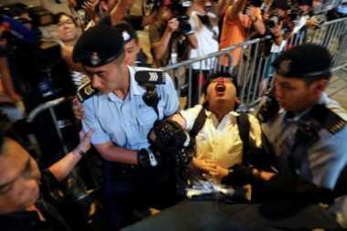 Presiden China Tiba, Pengamanan Hong Kong Diperketat