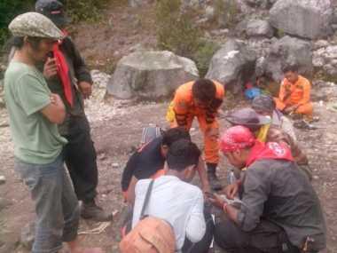 WNA Asal Jerman yang Hilang di Gunung Sibayak Belum Ditemukan