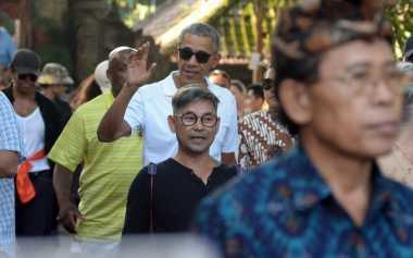 OBAMA DI JOGJA: Untuk Makan Siang Mie Lethek & Sambal Terong, Obama Berani Buka Dompet Rp4 Juta!!