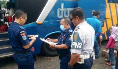 Angkut Pemudik, 6 Bus Didapati Tak Layak Jalan di Terminal Ciamis