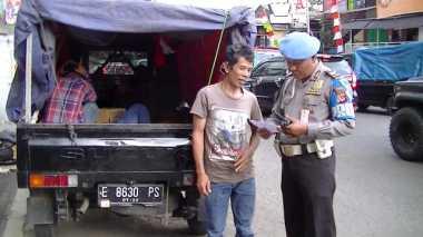 Polisi Bakal Tegur Pemudik yang Pakai Kendaraan Bak Terbuka