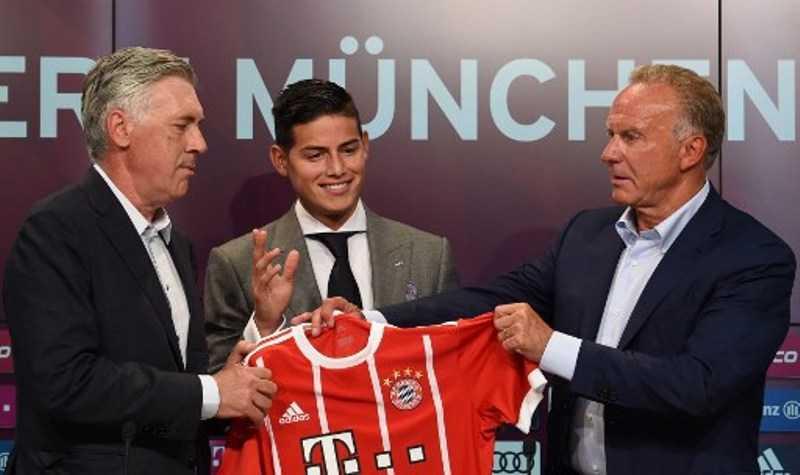 Gabung Bayern Munich, James Rodriguez Ungkapkan Kegembiraannya