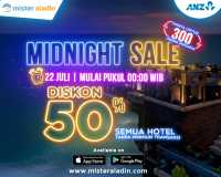 Promo <i>Midnight Sale</i>: Diskon 50% untuk Semua Hotel Dalam dan Luar Negeri