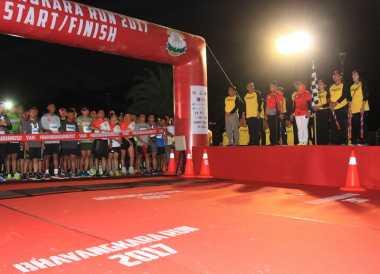 Kartu BNI Promoter Ramaikan Bhayangkara Run 2017