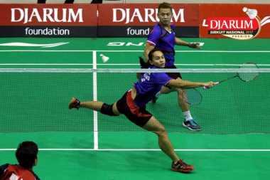 Gulingkan Lukhi/Ririn, Debut Riky/Masita Tembus Semifinal Sirnas Open Jawa Barat 2017