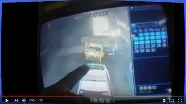 Ngeri! Gerobak Bakso di Lokasi Kecelakaan Ini Bergerak Sendiri, Ini Videonya
