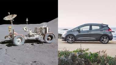 Chevrolet Peringati Pendaratan Kendaraan Pertama di Bulan