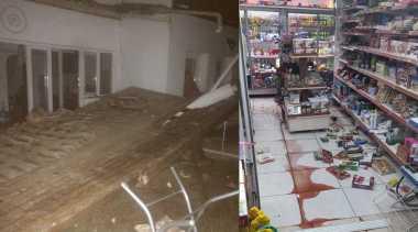 VIDEO: Momen Dramatis Ketika Gempa Bumi 6,7 SR Guncang Turki