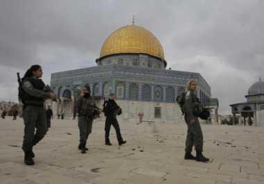 Telefon Presiden Israel, Erdogan Minta Detektor Logam di Al Aqsa Disingkirkan