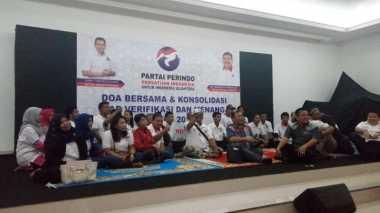 Doakan Hary Tanoe dan Kelancaran Verifikasi Faktual, Kader Perindo Berdoa Bersama di Kantor DPP Perindo