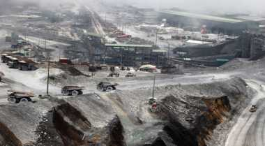 Aparat Tertibkan Kebun Ilegal Milik Warga di Area Pertambangan Freeport