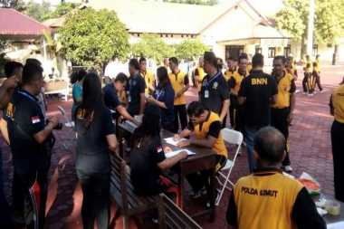 Dites Urine Dadakan, Ratusan Anggota Polres Nias Kaget dan Pasrah