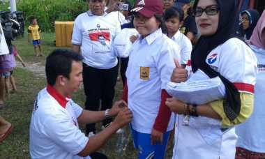 Dapat Seragam Sekolah, Korban Banjir Belitung Timur: Terima Kasih Perindo!