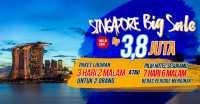 Liburan 3 Hari di Singapura Hanya Rp3,8 Juta untuk Berdua!