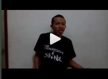 Video Ungkapan Hati Farhan, Mahasiswa Korban Bullying Ini Bikin Terharu