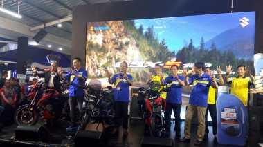 Suzuki Jual 1.408 Sepeda Motor Selama Jakarta Fair Kemayoran