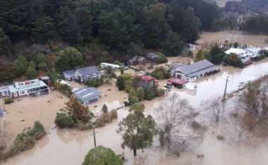 Badai Sebabkan Kekacauan di Selandia Baru, Militer Turun Tangan