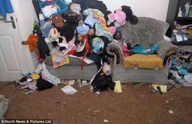 Duh! Tak Pernah Bersihkan Rumah dan Buang Sampah, Sepasang Suami-Istri di Inggris Dijebloskan ke Penjara