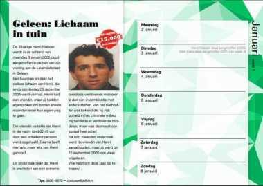 Napi di Belanda Diberi Kalender untuk Bantu Ungkap Kasus Tak Terpecahkan
