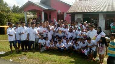 Mantap! Perindo Babel Bagikan Bantuan ke Korban Banjir Belitung Timur