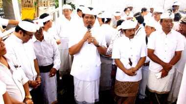 Ikuti Karya Panileman, Sudikerta Apresiasi Semangat Menyama Braya