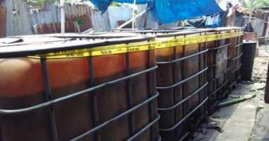 2 Ton Minyak Tanah Ilegal Berhasil Diamankan Petugas