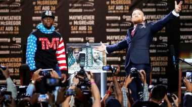 Duel Lawan Mayweather Jr, Manajer Klaim McGregor Telah Mempersiapkan Diri Sebaik Mungkin