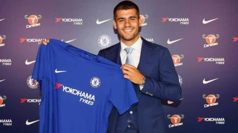 It's Official, Morata Berseragam Chelsea