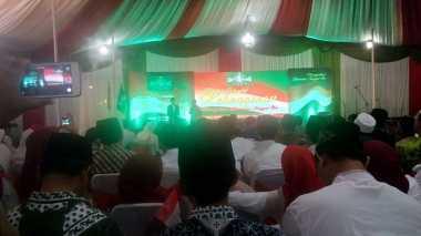 Jokowi Akhiri Halalbihalal Kebangsaan dengan Kuis Berhadiah Sepeda